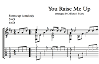 Picture of You Raise Me Up Sheet Music & Tabs